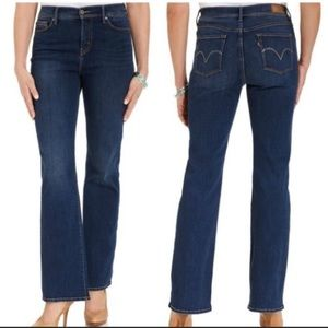 Levi's 512 Perfectly Slimming Bootcut Jeans Petite